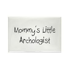 Mommy's Little Archologist Rectangle Magnet