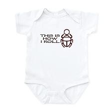 Scarab How I Roll Infant Bodysuit