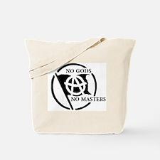 NO GODS NO MASTERS Tote Bag