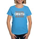 HR Croatia Women's Dark T-Shirt