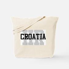 HR Croatia Tote Bag