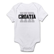 HR Croatia Infant Bodysuit