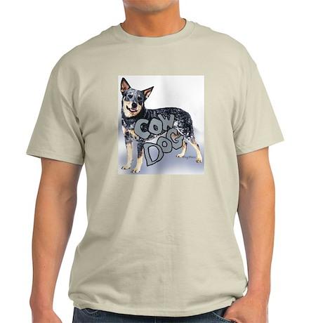 cow dog Ash Grey T-Shirt
