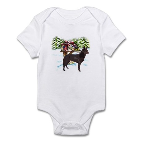 Kelpie Christmas Infant Bodysuit