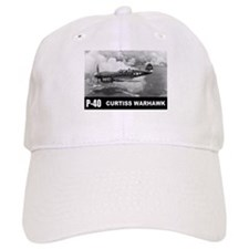 P-40 Curtiss Warhawk Baseball Cap