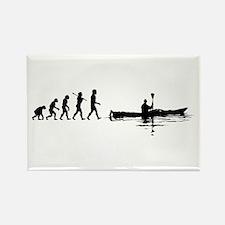 Kayaking Rectangle Magnet