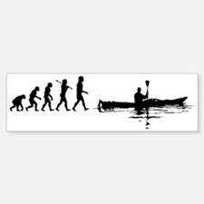 Kayaking Bumper Bumper Bumper Sticker
