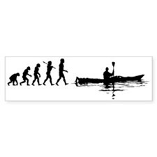 Kayaking Bumper Bumper Sticker