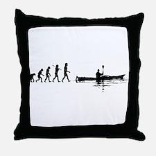 Kayaking Throw Pillow