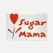 Sugar Mama Rectangle Magnet