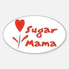 Sugar Mama Oval Decal