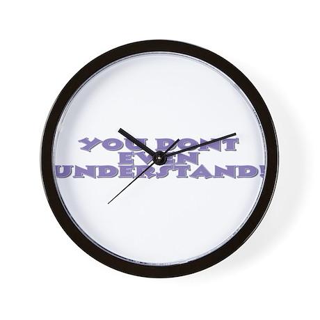 dont understand Wall Clock