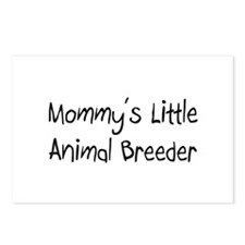 Mommy's Little Animal Breeder Postcards (Package o