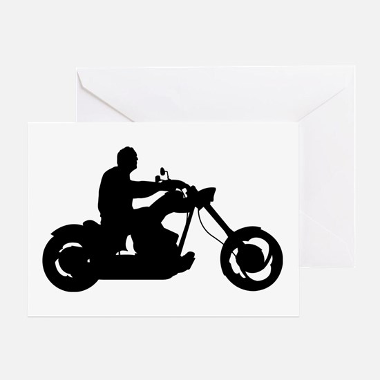 Bike Rider Greeting Card