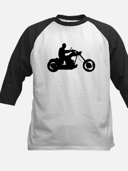 Bike Rider Kids Baseball Jersey