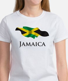 Map Of Jamaica Women's T-Shirt