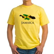 Map Of Jamaica T