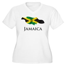 Map Of Jamaica T-Shirt