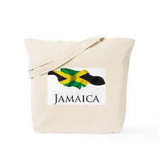 Map Of Jamaica Tote Bag