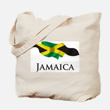 Map Of Jamaica Tote Bag