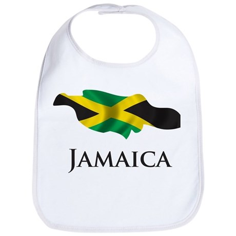 Map Of Jamaica Bib