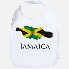Map Of Jamaica Bib