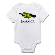 Map Of Jamaica Onesie