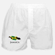 Map Of Jamaica Boxer Shorts