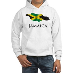 Map Of Jamaica Hooded Sweatshirt