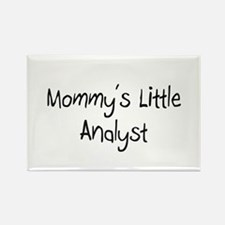 Mommy's Little Analyst Rectangle Magnet