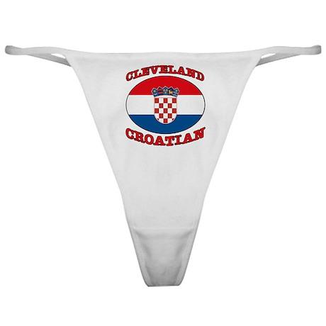 Cleveland Croatian Classic Thong