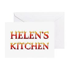 HELEN'S KITCHEN Greeting Card