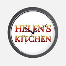 HELEN'S KITCHEN Wall Clock