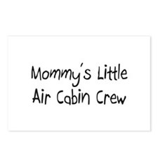 Mommy's Little Air Cabin Crew Postcards (Package o