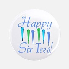 "60th Birthday 3.5"" Button"