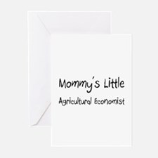 Mommy's Little Agricultural Economist Greeting Car