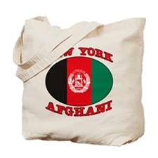 New York Afghani Tote Bag