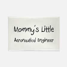 Mommy's Little Aeronautical Engineer Rectangle Mag