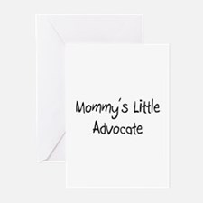 Mommy's Little Advocate Greeting Cards (Pk of 10)