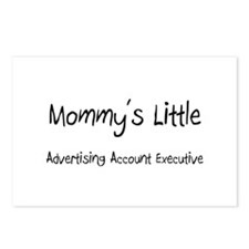 Mommy's Little Advertising Account Executive Postc
