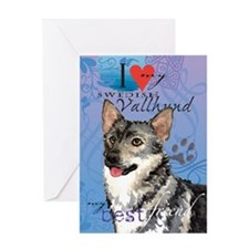 Swedish Vallhund Greeting Card