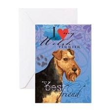 Welsh Terrier Greeting Card