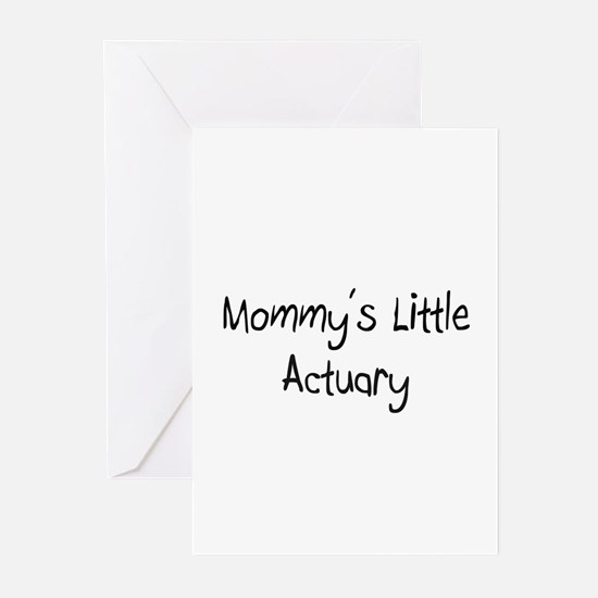 Mommy's Little Actuary Greeting Cards (Pk of 10)