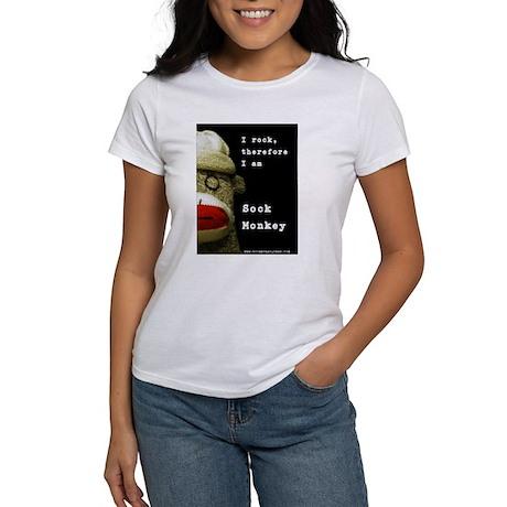 Sock Monkey Women's T-Shirt