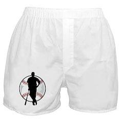 Baseball Player Boxer Shorts
