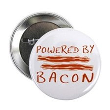 "Powered By Bacon 2.25"" Button"