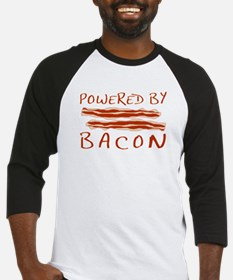 Powered By Bacon Baseball Jersey