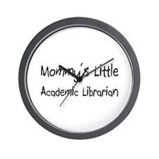 Mommy's Little Academic Librarian Wall Clock