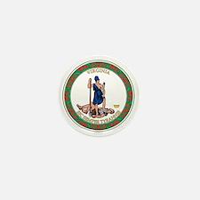 VIRGINIA-SEAL Mini Button