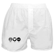 Peace Love Haiti Boxer Shorts